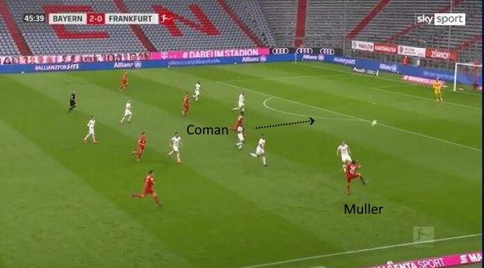 Bayern Monaco: Muller fa la differenza contro l'Eintracht