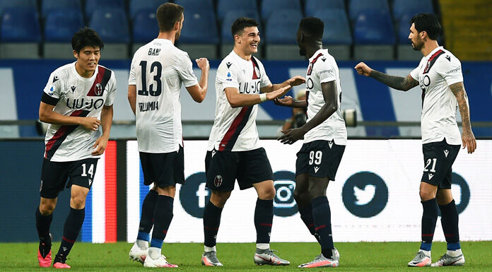 Bologna Sassuolo 0 0 LIVE: grandissimo salvataggio di Chiric