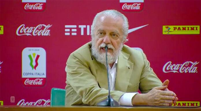 Napoli, De Laurentiis: «Nuovo campionato? La lega ha indicato una data folle»