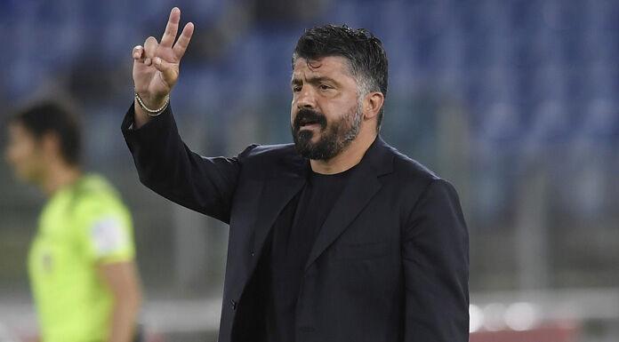 Napoli, Gattuso: «Ci vuole mentalità. Tutti facciano come In