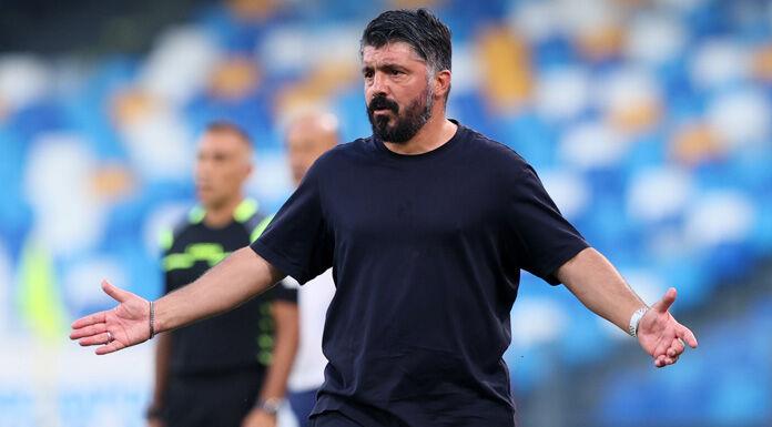 Napoli, Gattuso: «Partita buttata via. Non ricordo tiri dell