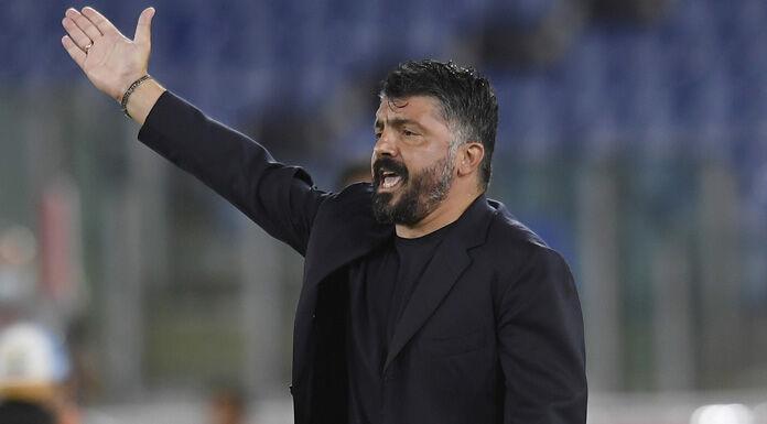 """Napoli, Gattuso: """"Sono arrabbiato con i miei giocatori, trop"""