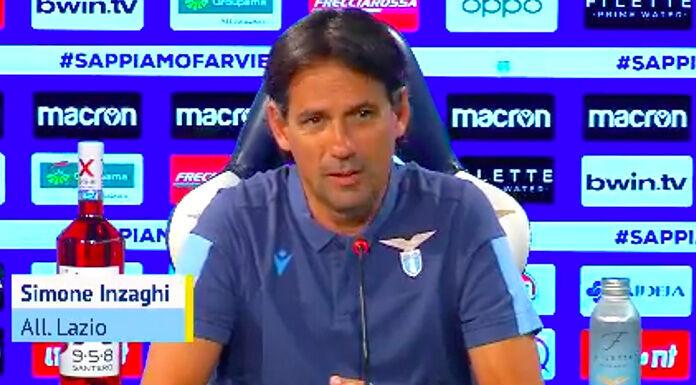 Lazio, Inzaghi: «È un momento particolare. I ragazzi danno t