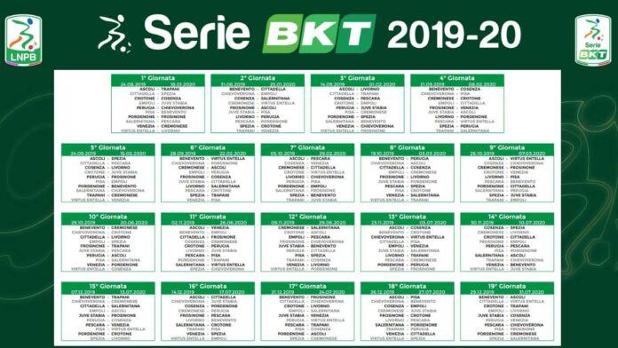 Calendario Serie B 2019 2020