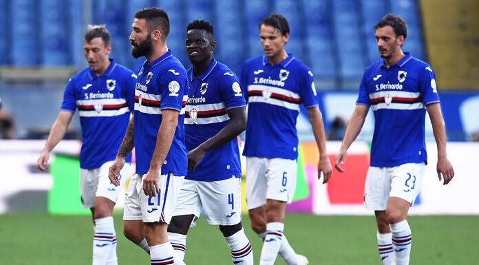 Sampdoria Spal 3 0 LIVE: squadre negli spogliatoi INTERVALLO