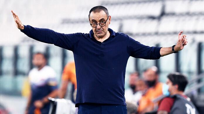 Juventus, Sarri: non c'è accordo per la risoluzione del contratto. Il nodo
