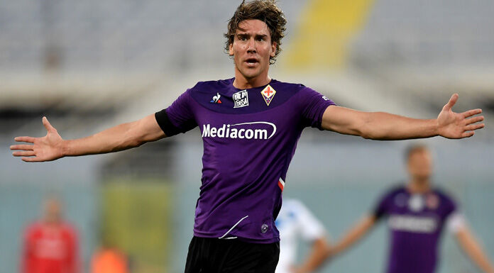 Spal Fiorentina    Vlahovic viene sostituito e si lamenta con Iachini
