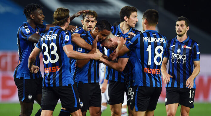Atalanta, tutta la rosa ha giocato almeno 1′ in Serie A