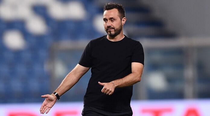 Sassuolo, De Zerbi: «Tre gol stupidi. Rivincita? Chi giudica…»