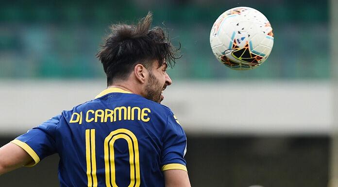 Infortunio Di Carmine: problema muscolare per l'attaccante