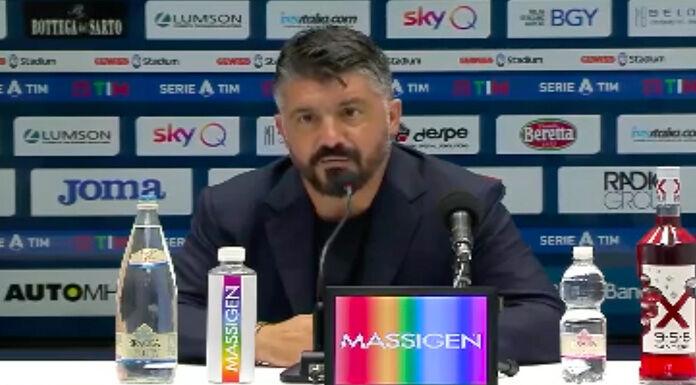 Gattuso: «A Bergamo ci eravamo persi in chiacchiere» – VIDEO