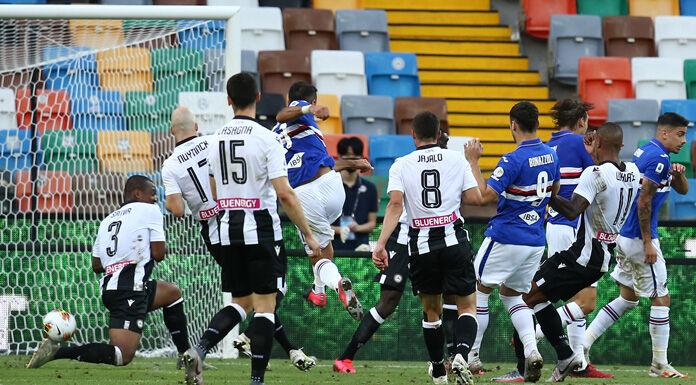 Udinese Sampdoria 1:3   Lasagna il migliore, deludono in tan