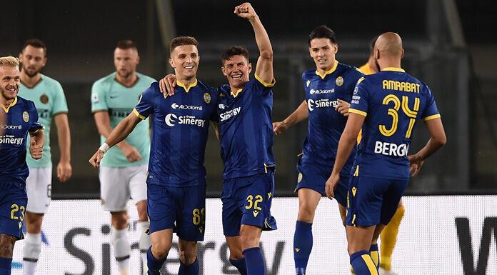 PAGELLE Verona Inter: Amrabat è dappertutto, malissimo Skrin