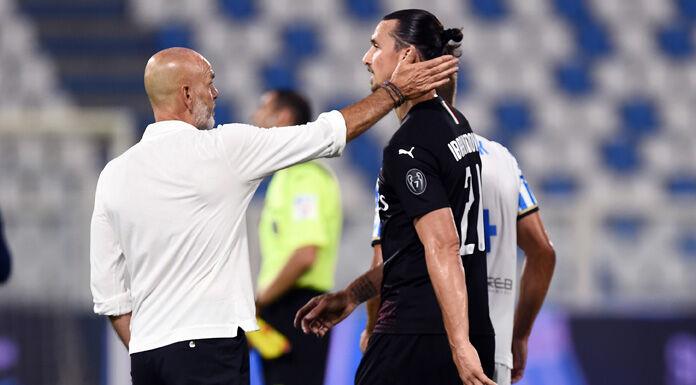Milan, Pioli su Ibrahimovic: «Domani deciderò se farlo giocare dal 1'»
