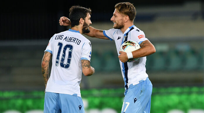 Napoli-Lazio |  Ciro Immobile in gol |  aggancia Higuain a quota 36 VIDEO