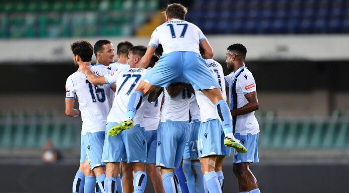Roma ko e la Lazio festeggia: è Champions League!