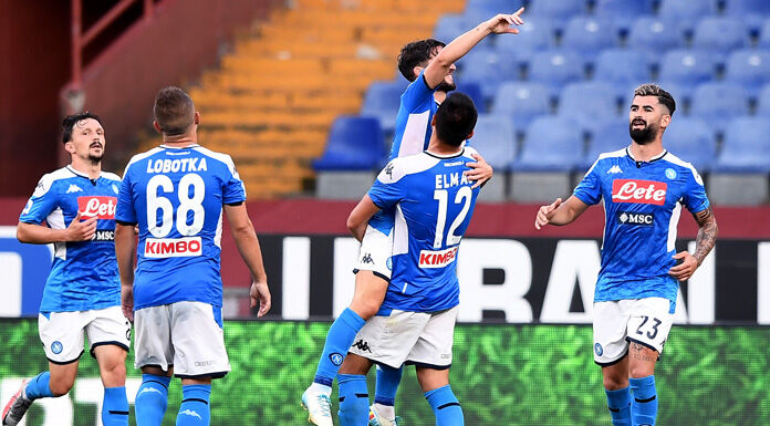 """Genoa Napoli 1 2, Nicola: """"Sono soddisfatto della prestazion"""