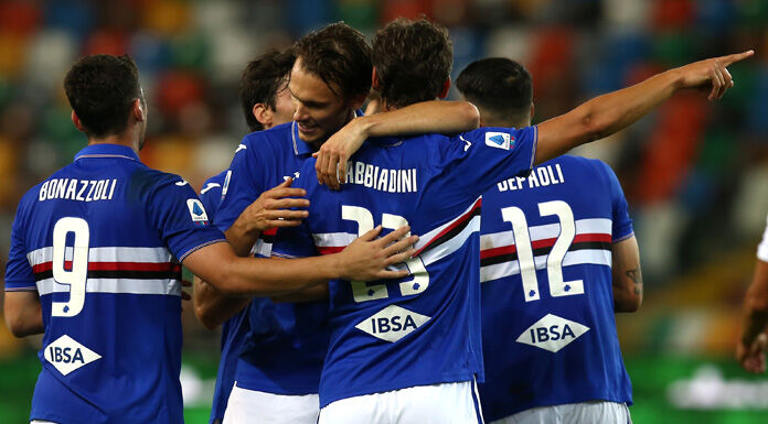 Sampdoria Benevento 0 0 LIVE: tutto pronto al Ferraris