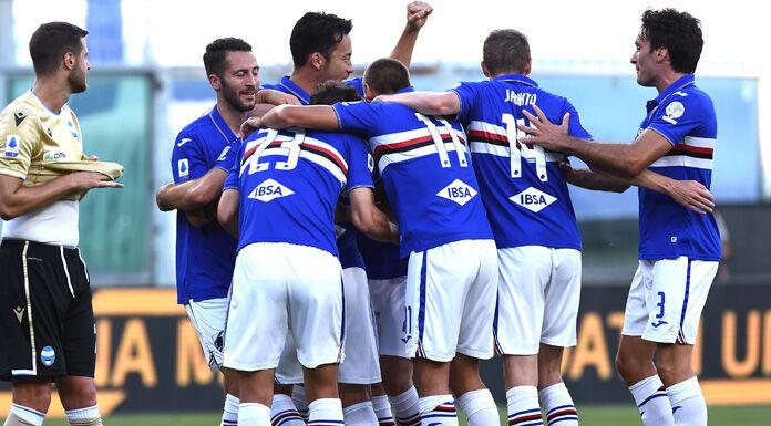 Sampdoria Spal 3 0 LIVE: palo Petagna