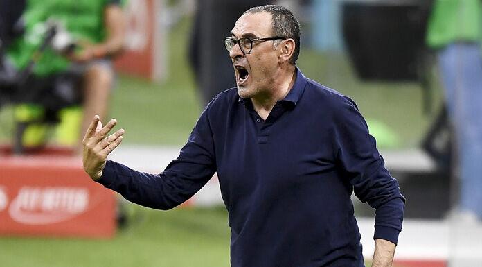 """Juve Lione, Sarri: """"Il mio futuro non dipende dal match di domani"""""""
