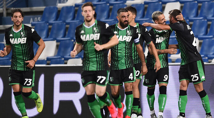 Sassuolo Cagliari 0 0 LIVE: intervallo