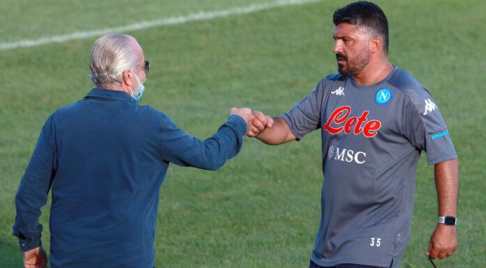 Napoli, rapporti tesi tra De Laurentiis, Gattuso e Giuntoli: le ultime