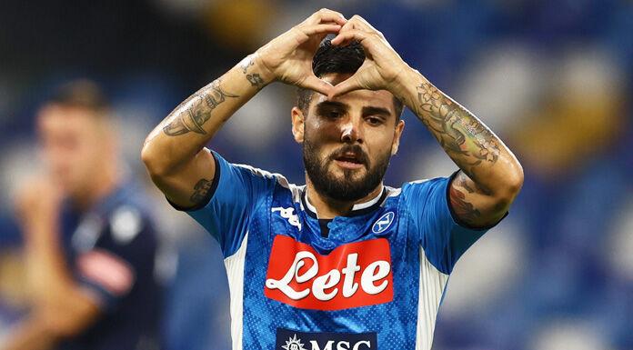 Napoli, Insigne segna al Barcellona ed entra nella storia della Champions
