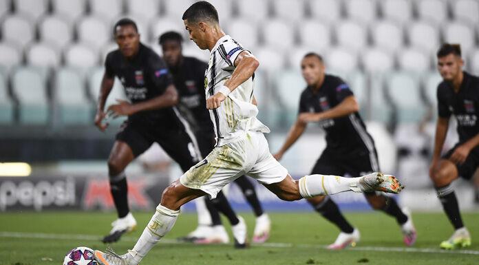 Juve Lione 2 1 LIVE: Ronaldo porta in vantaggio i bianconeri con un super gol