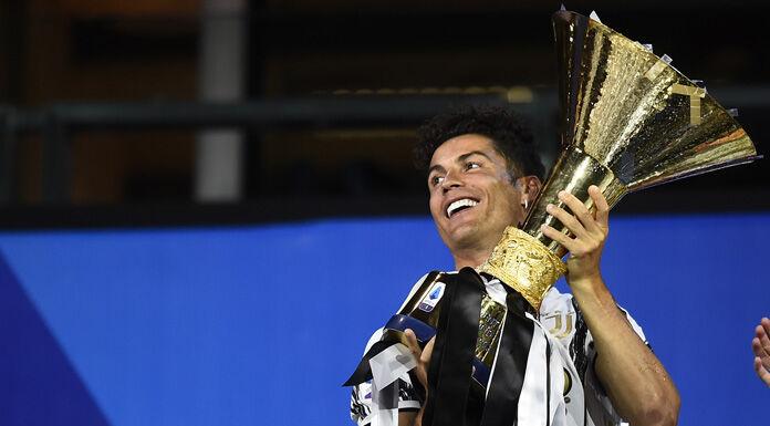 Ronaldo insieme a Buffon    «Indovinate quanti titoli abbiamo vinto»
