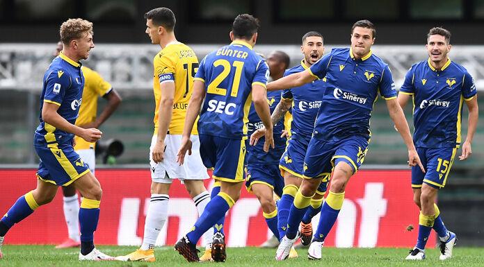 Hellas Verona, Favilli: «Contento per il gol e i tre punti»