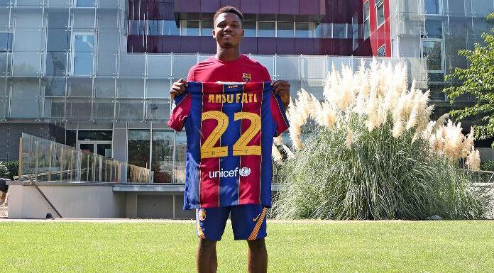 Barcellona, Ansu Fati show: doppietta contro il Villareal – VIDEO
