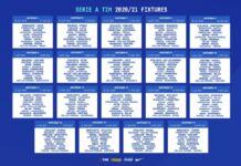 Calendario Serie A 2020-2021
