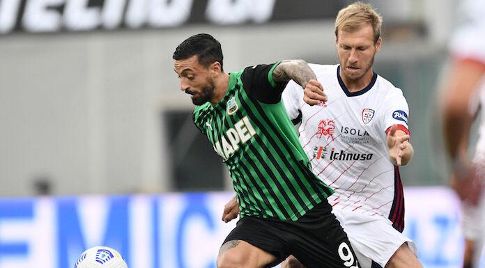 Sassuolo Cagliari 1 1 LIVE: pari di Bourabia su punizione