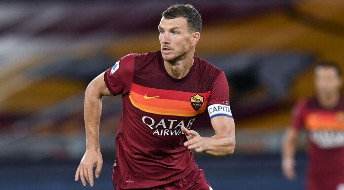Roma, Dzeko a Villa Stuart per l'idoneità sportiva: «Contento sia finita»