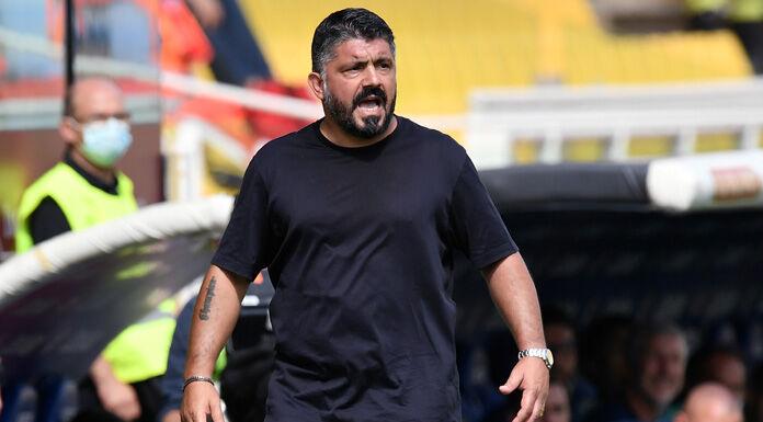 Napoli, Gattuso sui 13 positivi dell'AZ: «C'è timore e preoccupazione»
