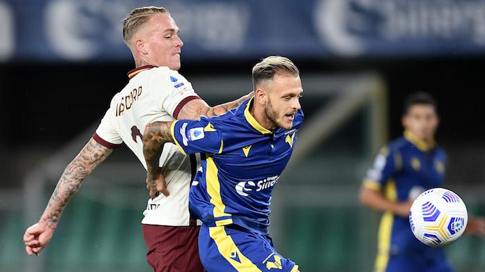 PAGELLE Verona Roma: TOP e FLOP del match VOTI