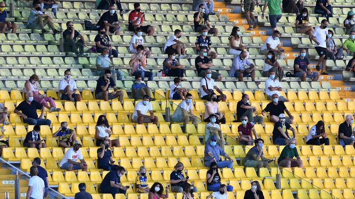 La Regione: 1.000 spettatori domenica al Tardini per Parma-Napoli