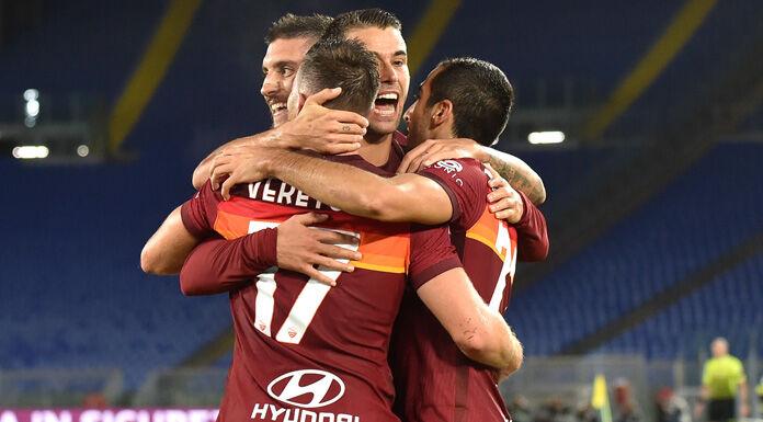 Roma Benevento 3-1 LIVE |  finisce il primo tempo