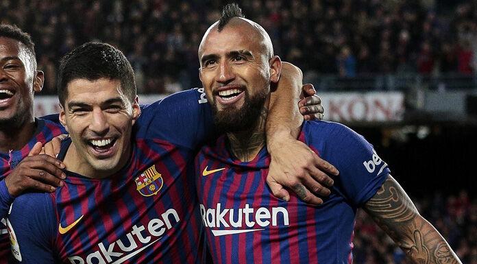 Vidal a Suarez: «Farò sempre il tifo per te da lontano» – FOTO