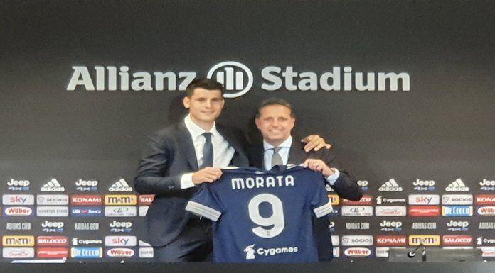 Morata: «Pronto a giocare con CR7 e Dybala, sono qui per vincere» – VIDEO