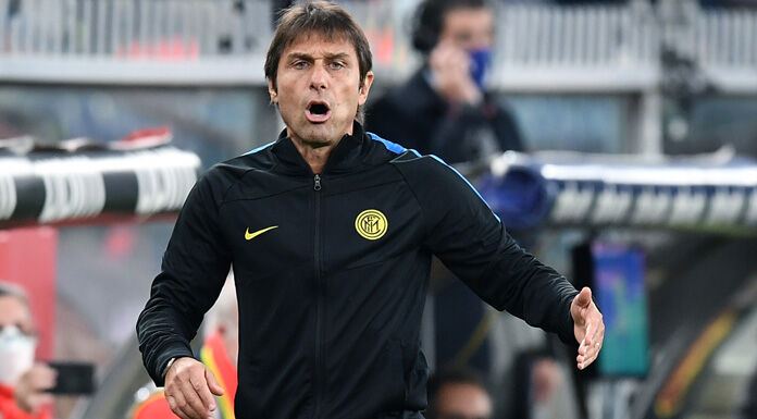 Inter, Conte: «Striscione? Ai tifosi dico…» – VIDEO