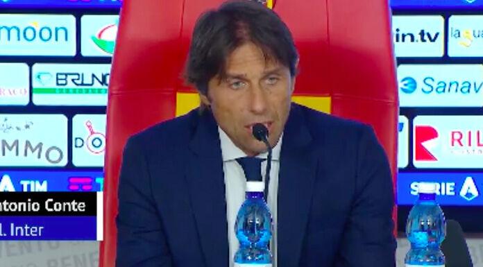 Conte: «Hakimi è nato per fare il quinto e Vidal…» – VIDEO