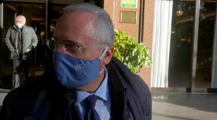 Figc, caso tamponi Lazio: sanzioni pecuniarie per Lotito, Rodia e Pulcini