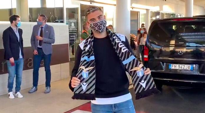 Lazio: Andreas Pereira è arrivato in Italia, domani le visite – VIDEO