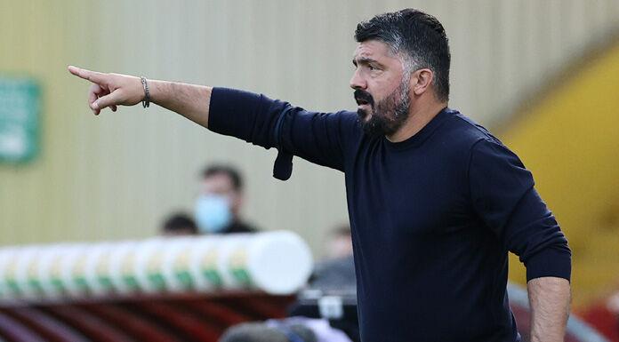 Napoli, Gattuso: «Dette cose non vere. Io terrone dentro, qui a mio agio»