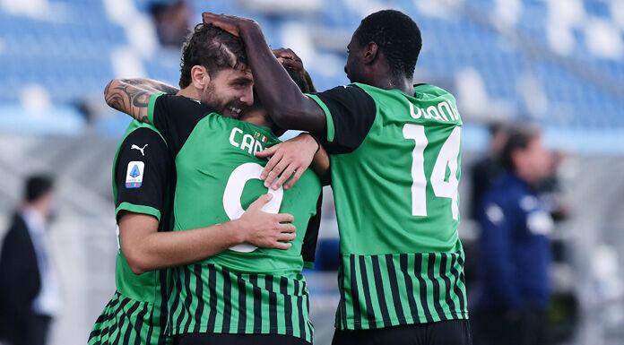 Bologna Sassuolo 3 - 4 - Vittoria in rimonta per i neroverdi |  secondo posto in classifica