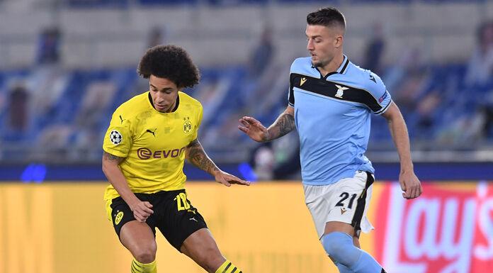 Lazio Borussia Dortmund LIVE 2 0: intervallo all'Olimpico