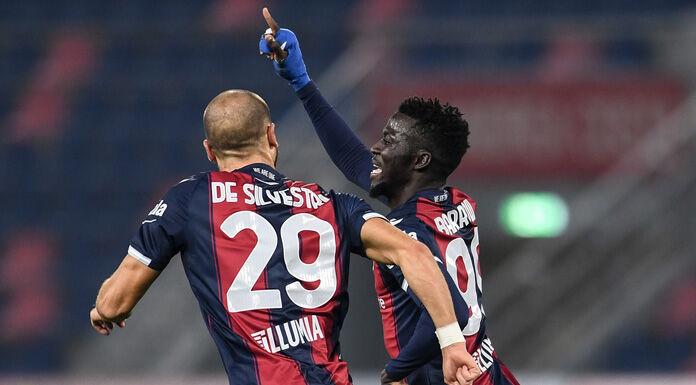 Bologna Spezia 2-1 LIVE |  fine primo tempo