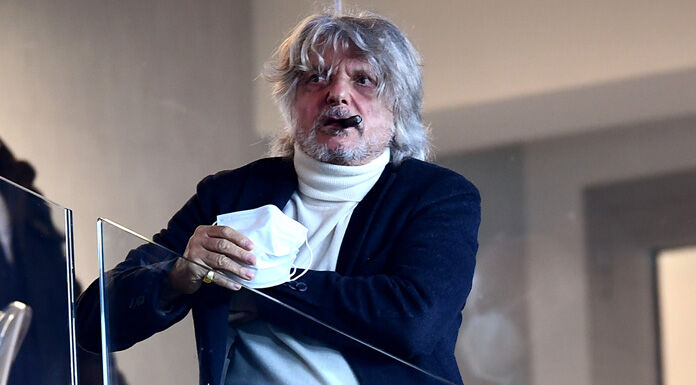 Ferrero: «Ranieri non è in discussione. Scudetto? Penso che lo vincerà la Juve»