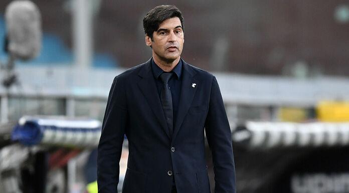 Roma, Fonseca: «In discussione dal primo giorno. Cambi? Parlerò col club»